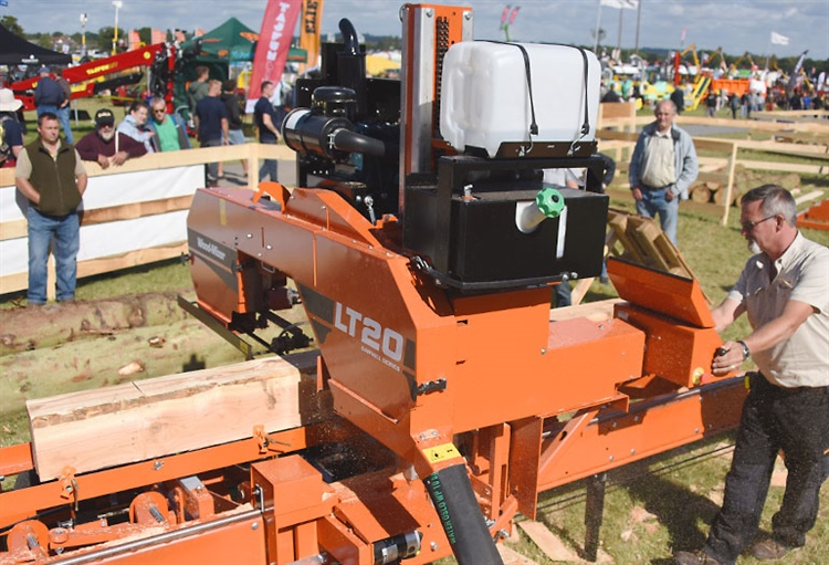 Wood-Mizer UK presents new products at APF 2016