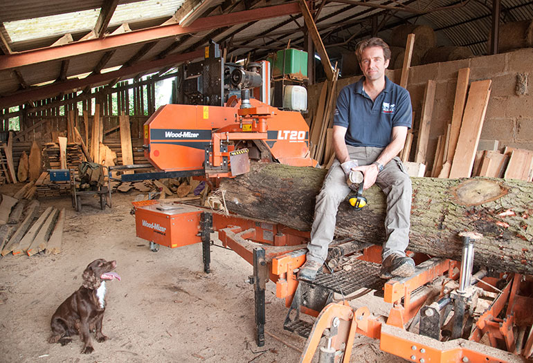 Woodmizer Sawmill For Sale >> UK journalist visits Wood-Mizer's manufacturing centre in ...