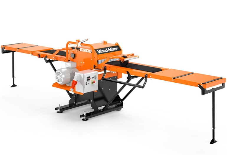 New EG100 Twin-Blade Board Edger from Wood-Mizer