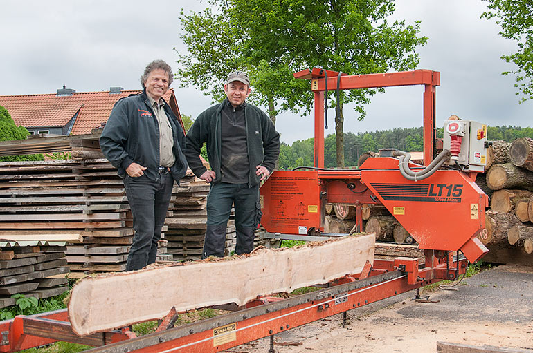 German Logger Expands Into Sawmilling With Lt15