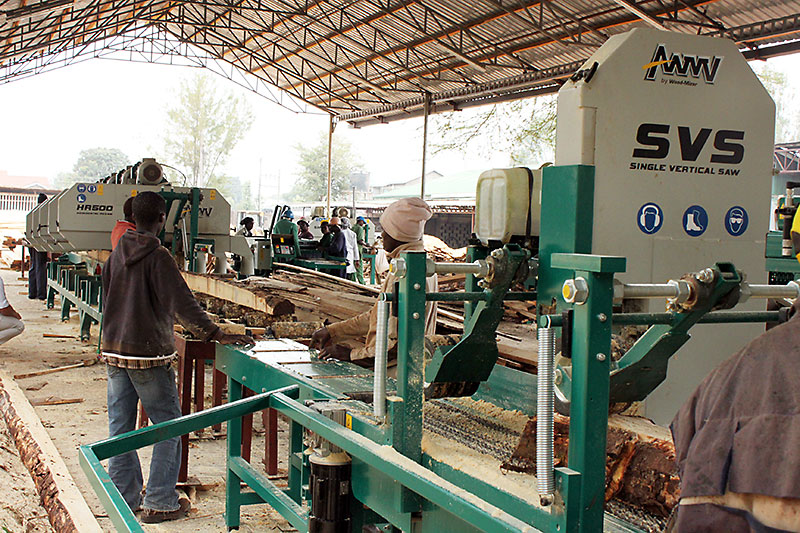 Smart Slp Sawmilling Success In Kenya