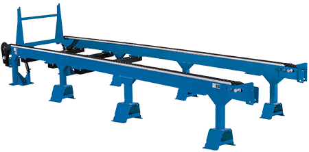 Wb2000 sawmill for Decking boards 6m long