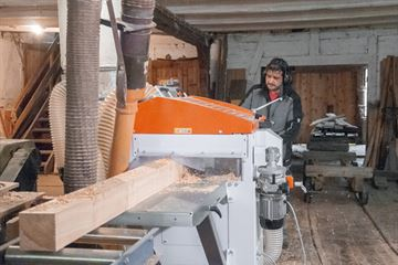 Old Carpentry Workshop in Germany Upgraded