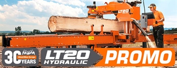 LT20 sawmill on sale  —  2020 Jubilee promotion