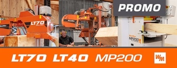 Buy LT40 sawmill and SAVE 5 000 €