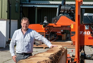 30 Years of Sawing in Wales with Five Wood-Mizer Sawmills