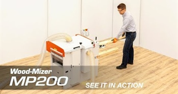 New Wood-Mizer two-sided MP200 moulder / planer