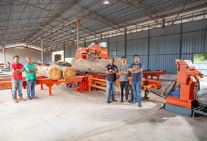 Malaysian family business operates LT70 Remote Sawmill