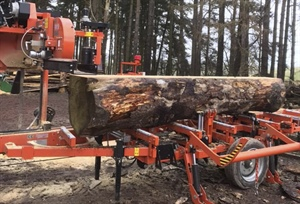 Mobile Contract Sawmilling in Scotland