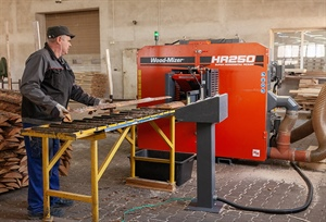 First HR250 resaw installation in Poland: a pallet manufacturer...