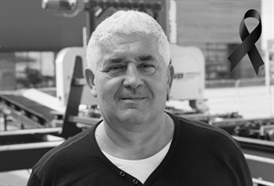 Wood-Mizer representative, Dragan Markov, passed away