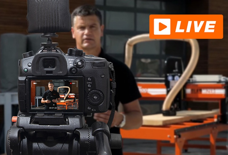 See NEW Wood-Mizer Machines LIVE Broadcast