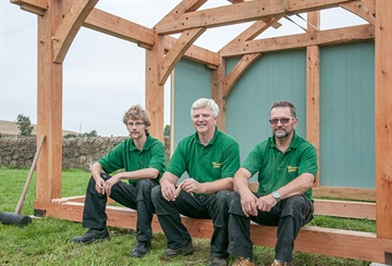 LT15 helps Scottish teacher prove viability of traditional woodcraft