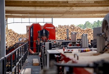 TITAN sawmill line operates in the Polish pallet production