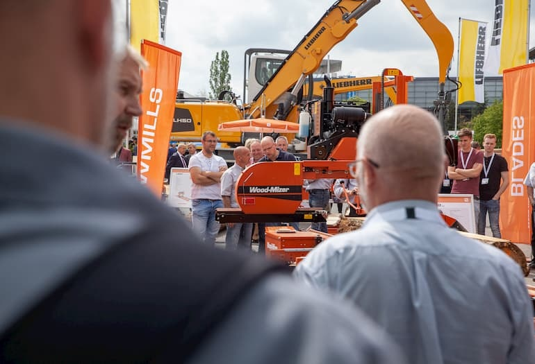 AT LIGNA 2019 WOOD-MIZER PRESENTED A WIDE RANGE OF NEW MACHINERY CAPABLE OF CONVERTING...