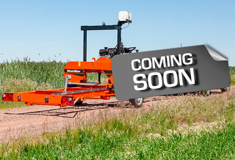 New Wood-Mizer machine is coming soon