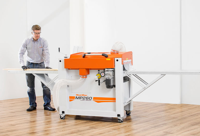 Wood Mizer Releases Affordable Mp260 4 Sided Planer