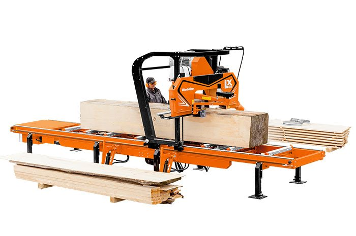 LX450 Sawmill | Your Wood-Mizer Twin Rail Choice